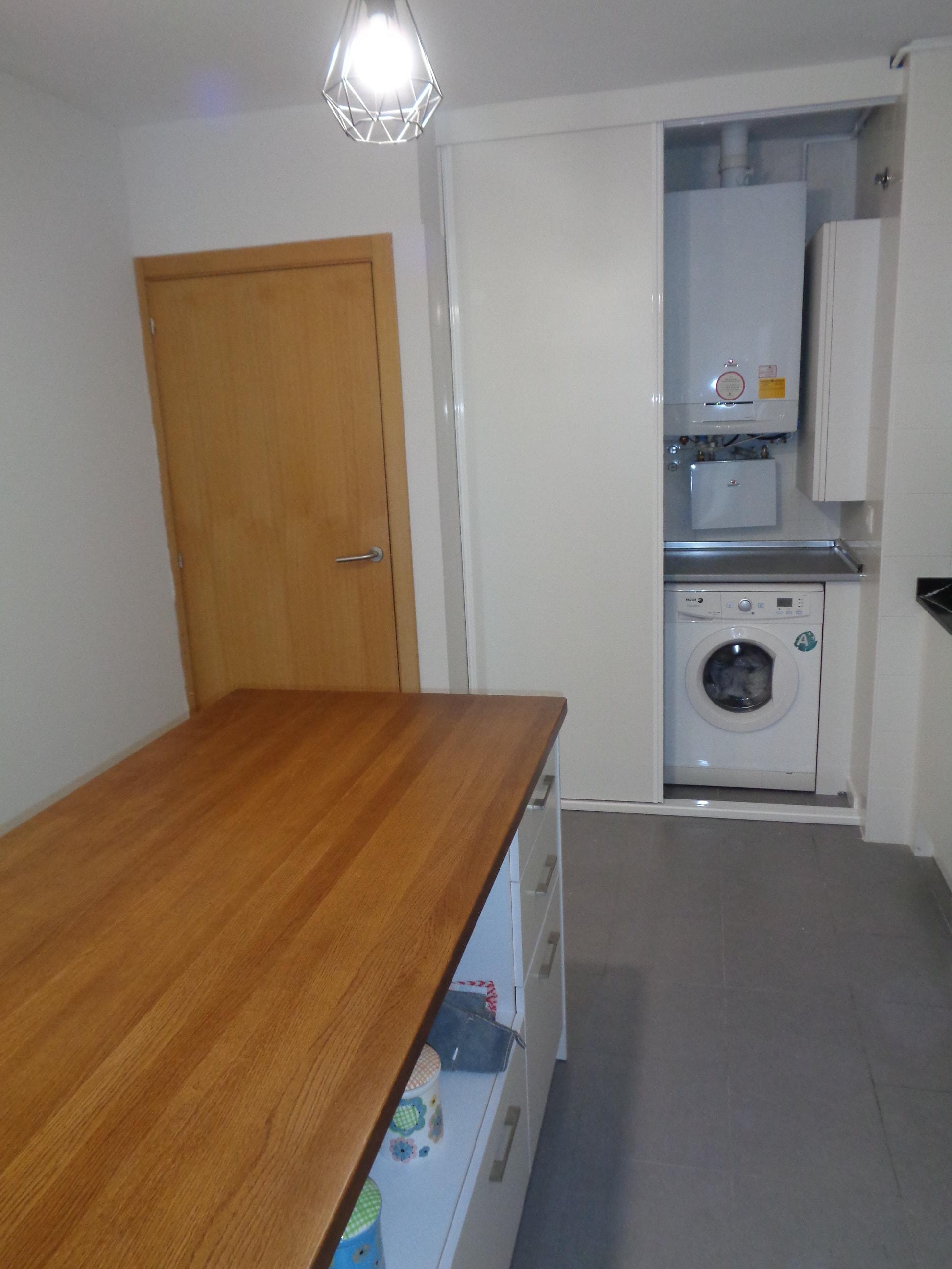 Mobiliario cocina y encimera